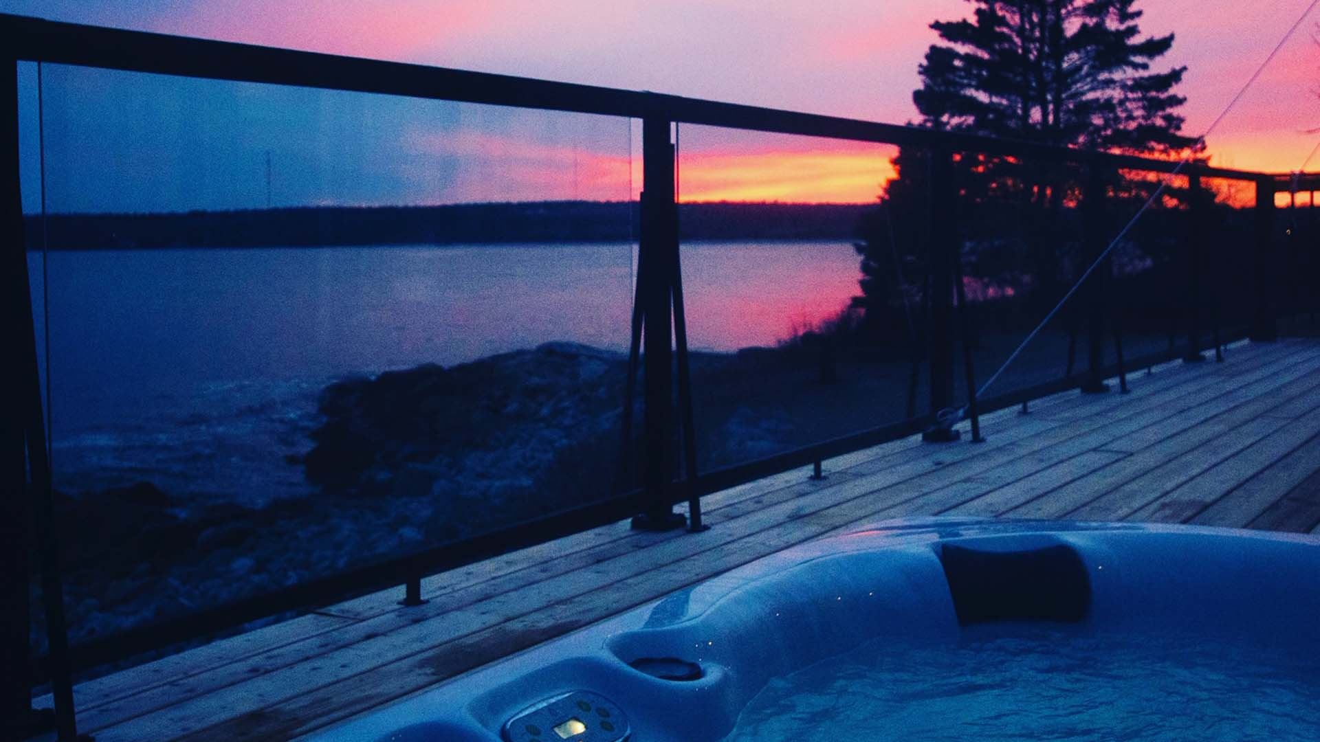 Nova Scotia Winter Getaways With An Outdoor Hot Tub Tourism Nova Scotia Canada